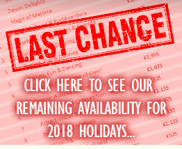 last minute supported holidays 2018